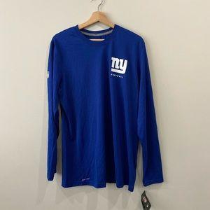 Nike | Dri Fit New York Giants Long Sleeve